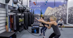 Zenergy Health Club & Spa - Pivot Functional Training Studio - Gym Design
