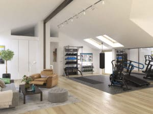 Residential Home Gym Design