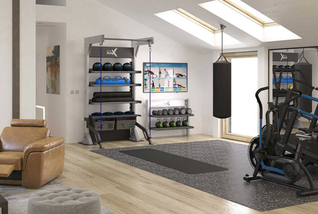 Gym Design - Home Residence Gym Planning - Gym Rax