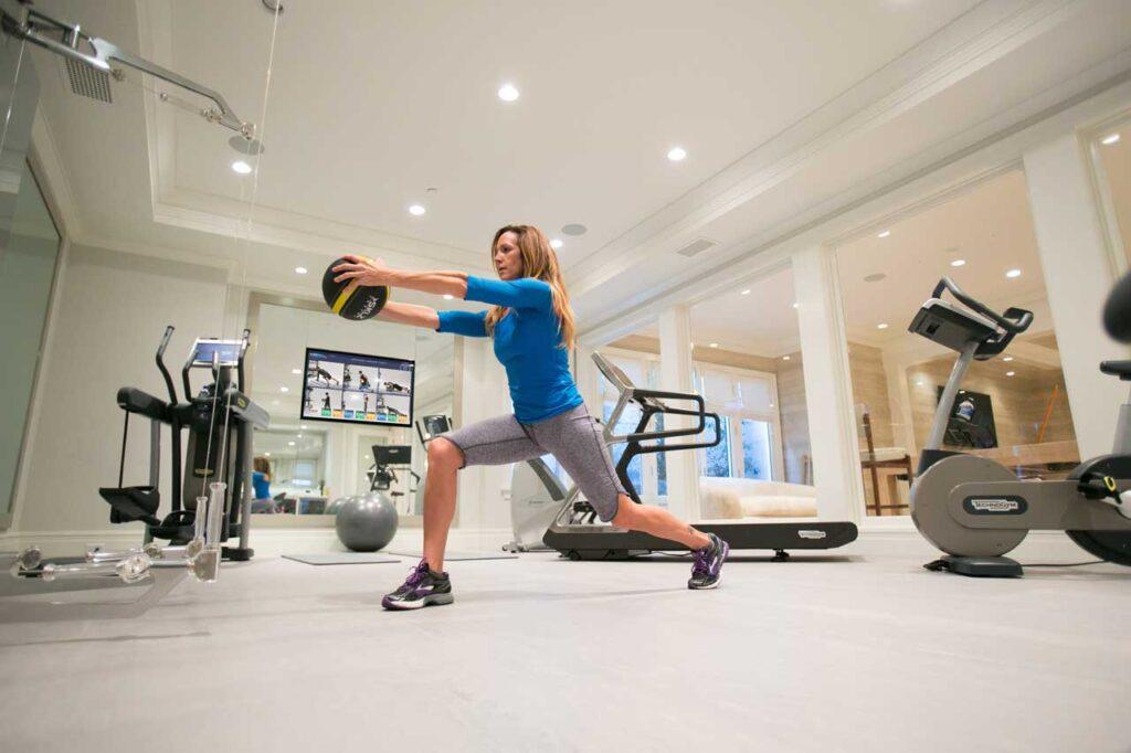 home-gym-design-gym-flooring-fitness-aktiv-tv-technogym-cardio-kinesis