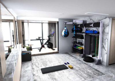 Home Gym | High Rise Chicago