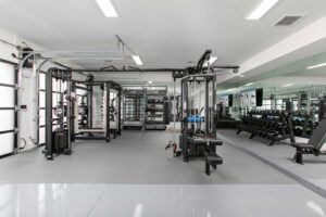 Garage Home Gym in scottsdale arizona designed for functional training, strength training, and aktiv recovery